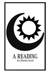 mark lamoureux, a reading for Marthe Reed